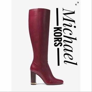 MICHAEL KORS Walker Leather Boots✨Brand New!!!